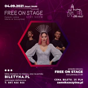free on stage